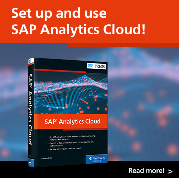 SAP Analytics Cloud | SAP PRESS Books and E-Books
