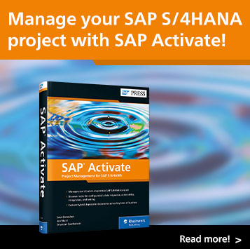 SAP Activate | SAP PRESS Books and E-Books