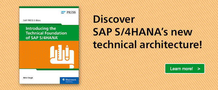SAP S/4HANA Technical Architecture