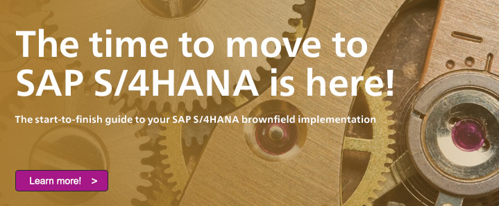 SAP S/4HANA Conversion Guide