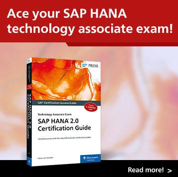 SAP HANA 2.0 Certification Guide: Technology Associate Exam | SAP PRESS Books and E-Bites