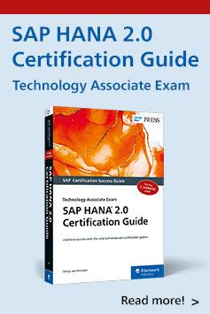 SAP HANA 2.0 Technology Associate Exam Study Guide | SAP PRESS Books and E-Books