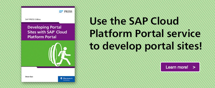 SAP Cloud Platform Portal