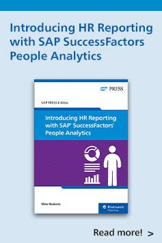 Introducing SAP SuccessFactors People Analytics | SAP PRESS Books and E-Books