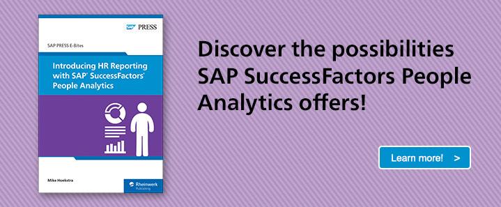 SAP SuccessFactors People Analytics