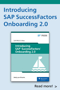 Introducing SAP SuccessFactors Onboarding 2.0 | SAP PRESS Books and E-Books