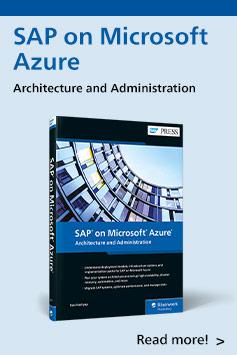 SAP on Microsoft Azure   SAP PRESS Books and E-Books