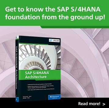 SAP S/4HANA Architecture | SAP PRESS Books and E-Books