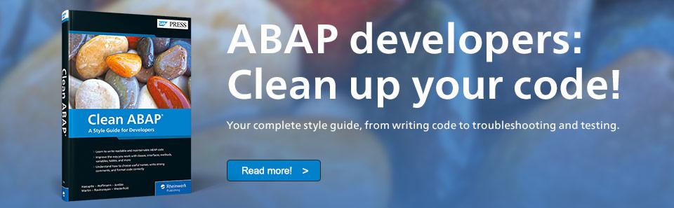 Clean ABAP