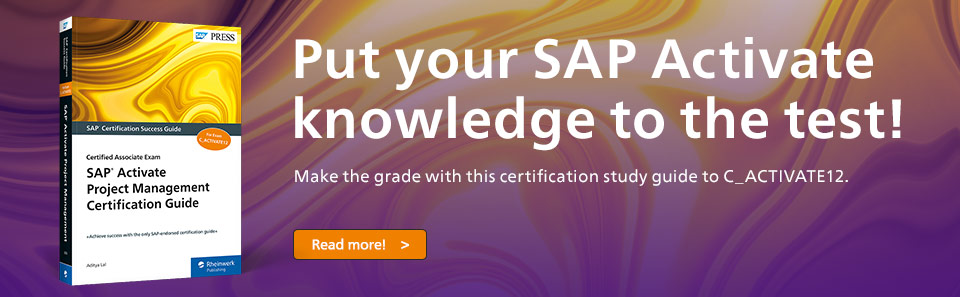 SAP Activate Certification Guide