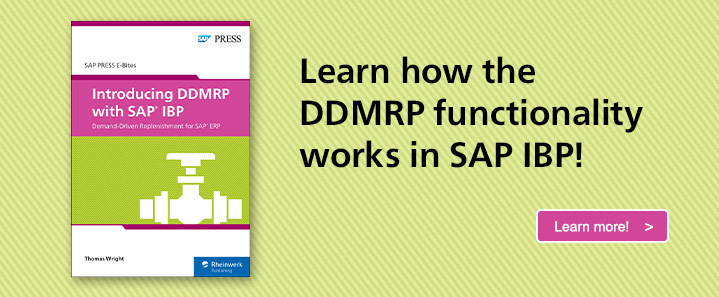 DDMRP with SAP IBP