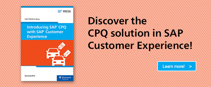 SAP CPQ with SAP Customer Experience