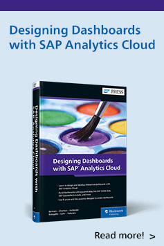 Designing Dashboards with SAP Analytics Cloud   SAP PRESS Books and E-Books
