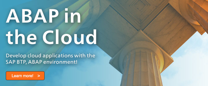 ABAP in the Cloud