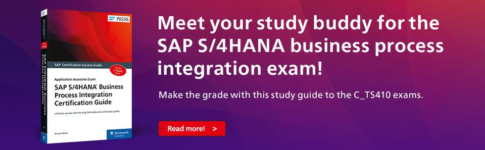 SAP S/4HANA Business Process Integration