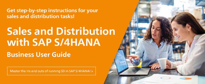 SD with SAP S/4HANA