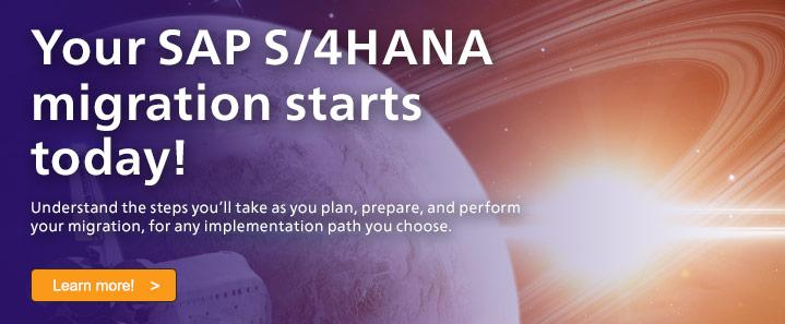 SAP S/4HANA Migration