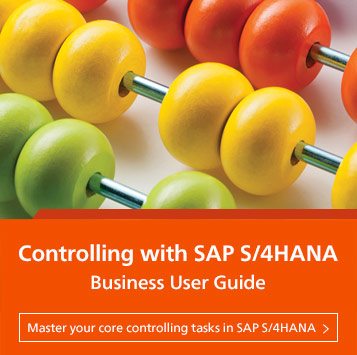 Controlling with SAP S/4HANA: Business User Guide | SAP PRESS Books and E-Books