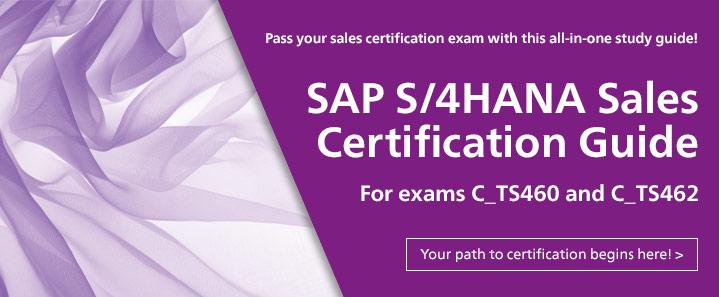 SAP S/4HANA Sales Certification Guide