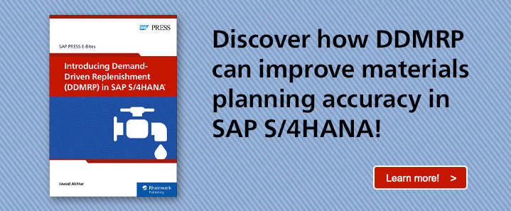 DDMRP in SAP S/4HANA