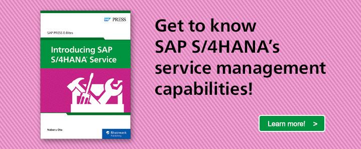 SAP S/4HANA Service