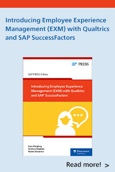 Introducing Employee Experience Management (EXM) with Qualtrics and SAP SuccessFactors | SAP PRESS Books and E-Books
