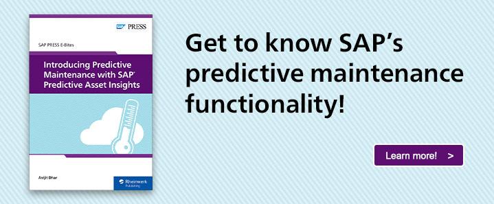 SAP Predictive Asset Insights