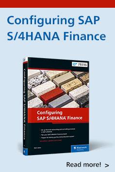 Configuring SAP S/4HANA Finance, 2nd Edition | SAP PRESS Books and E-Books