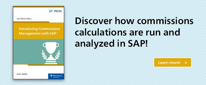 SAP Commissions Management