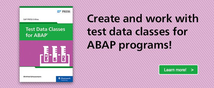Test Data Classes