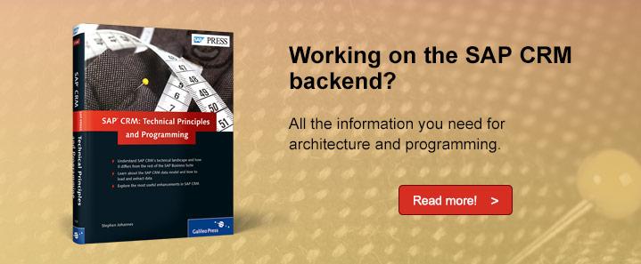 SAP CRM Backend
