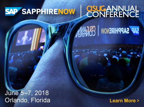 SAPPHIRENOW and ASUG Annual Conference
