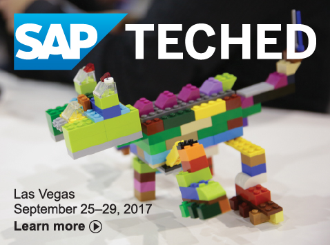 SAP TechEd Las Vegas 2017