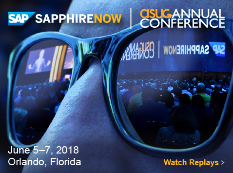 SAPPHIRE NOW & ASUG Annual Conference 2018