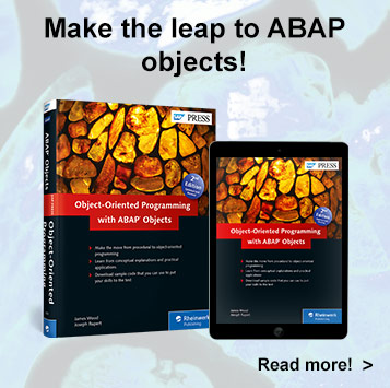 Object-Oriented Programming with ABAP Objects - SAP PRESS Book