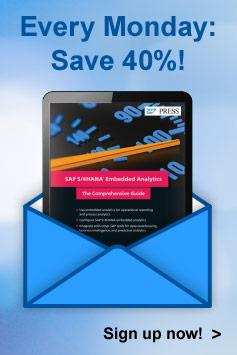 Markdown Monday Newsletter l SAP PRESS Books and E-Books
