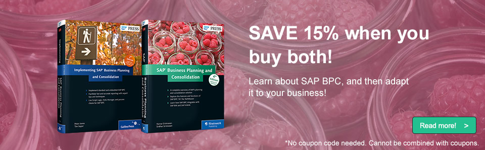 SAP BPC Sale