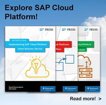 SAP Cloud Platform E-books