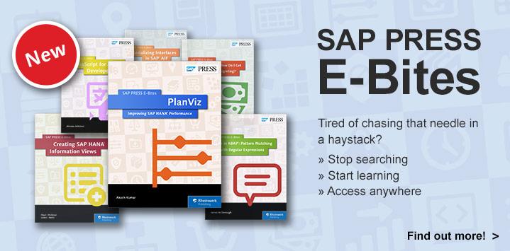 SAP PRESS E-Bites
