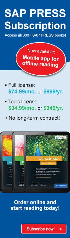 SAP PRESS Subscription