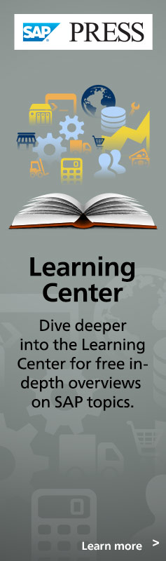 SAP PRESS Learning Center | Free Content on SAP Topics
