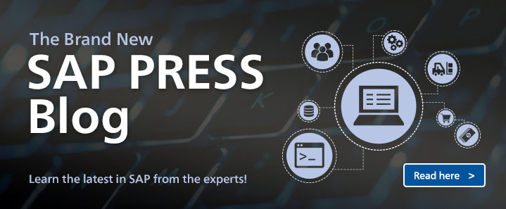 New SAP PRESS Blog