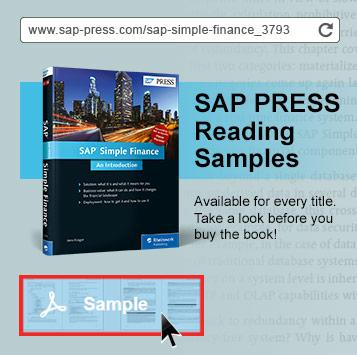 SAP PRESS Reading Samples