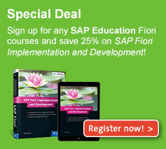 SAP Education Fiori Courses