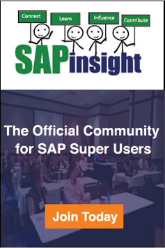 SAPinsight and SAP PRESS Partnership