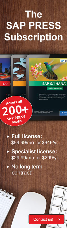 SAP PRESS Annual Online Subscription