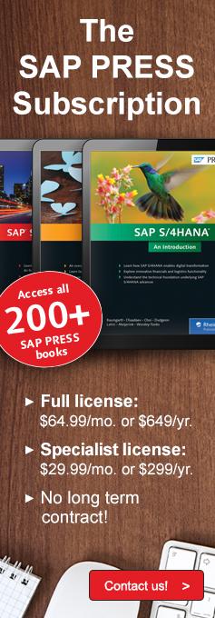 SAP PRESS Annual Online Subscription