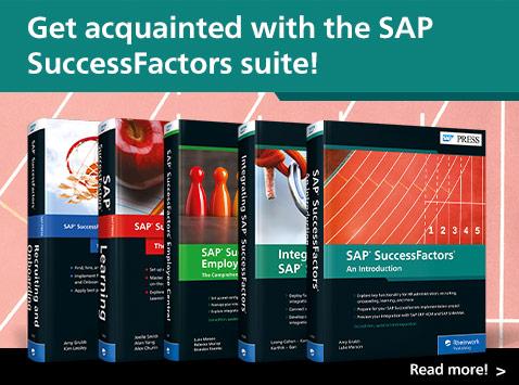 SAP SuccessFactors Library | SAP PRESS Books and E-Books