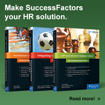 SAP SuccessFactors Books - SAP PRESS