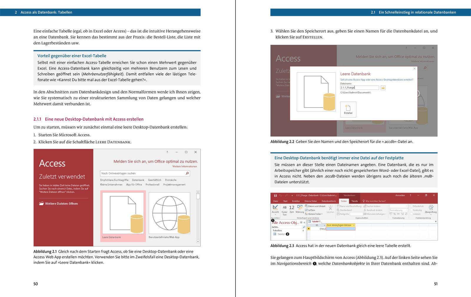 Access 2016 Das Umfassende Handbuch Rheinwerk Verlag